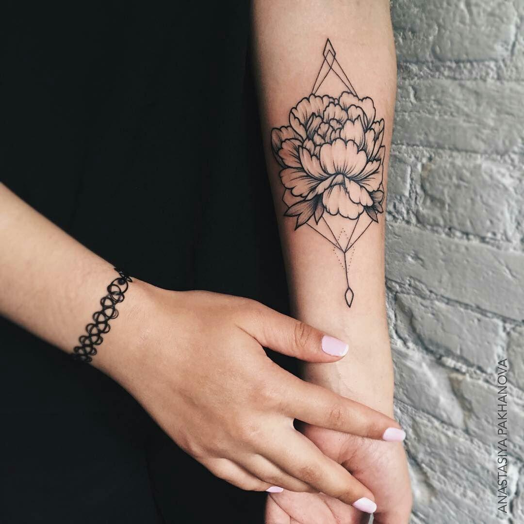 Tatuajes Para Mujeres Brazo Flores