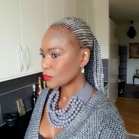 Silver grey cornrows | Braids-cornrows & Hairstyles ...