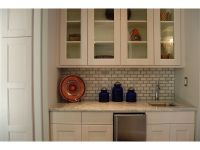Built+in+Wet+Bar+Sink | ... cabinet storage, marble ...