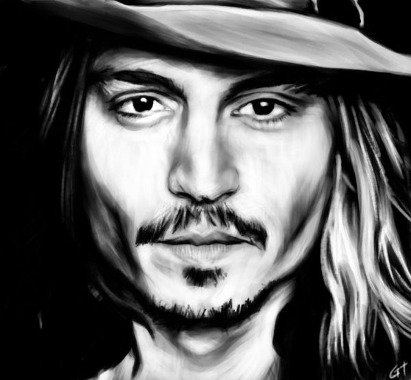 Johnny Depp Sketch Wallpaper Hd 2013 - Wallpapers Favorite Cry Baby