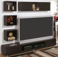 modern-wall-mount-tv-stand-and-floating-shelf-decor-idea ...