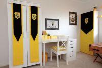 Hufflepuff bedroom design ideas - Harry Potter Hogwarts ...