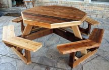 Octagonal Picnic Table Plans