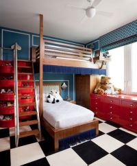 Red And White Kids Bedroom | www.pixshark.com - Images ...