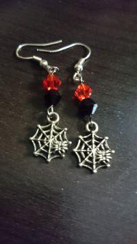 Spider Web Earrings | Jewelry Making - Earrings ...