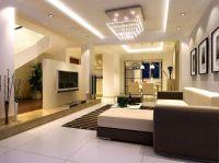 modern flat screen TV for living room design ideas