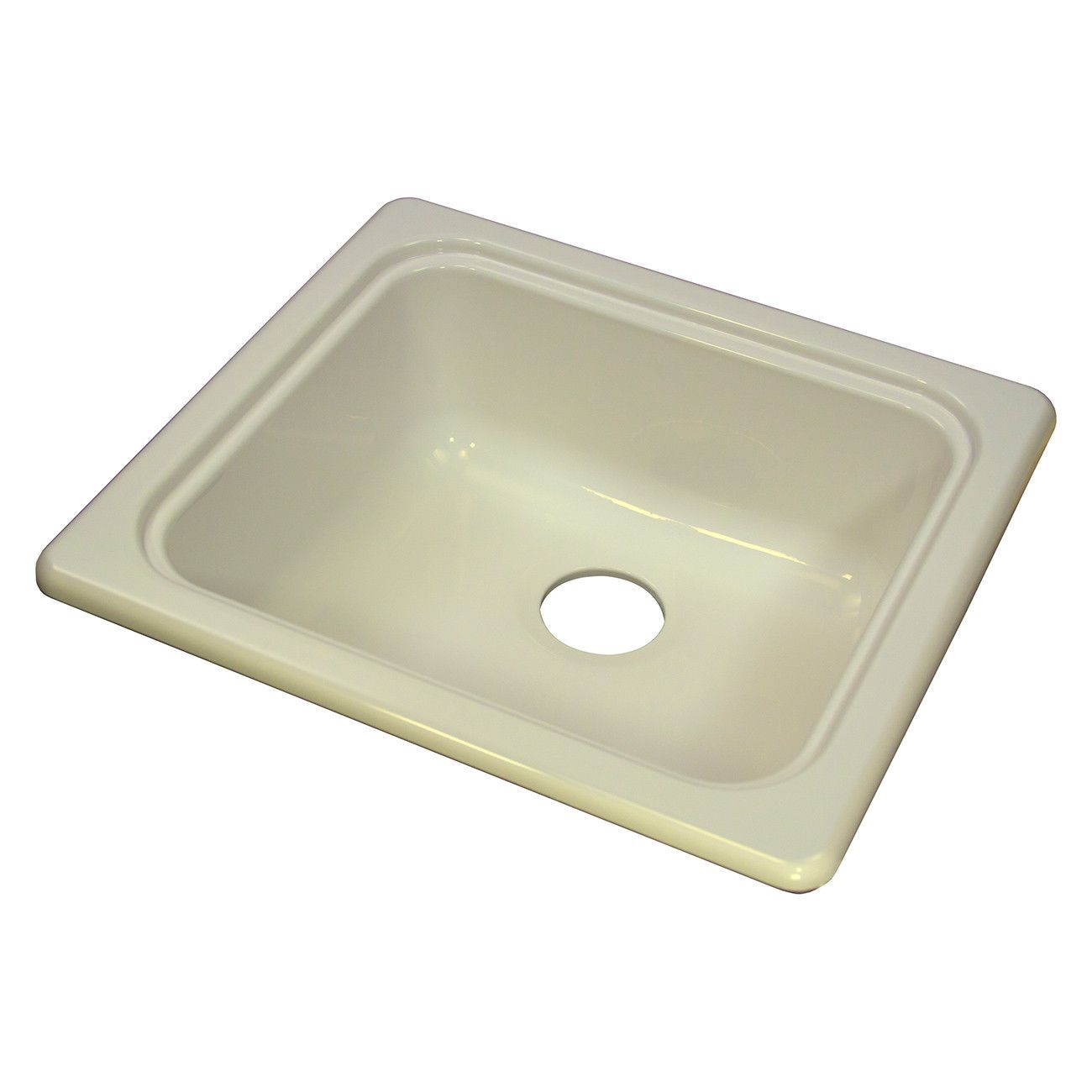 mobile home kitchen sink wilsonart cabinets lyons dks09f 3 5 biscuit 18 inch by 20 recreational