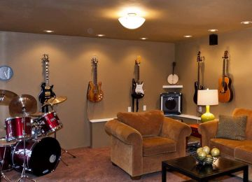 Home Music Studio Design Ideas From Mix And Match Music Room To