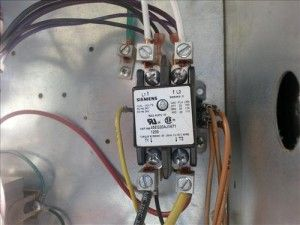 Ac Condenser Fan Motor Run Capacitor Wiring Diagram To Dayton Hvac Contactor Relay Hvac How To Pinterest