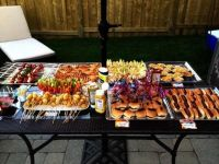 outdoor party- sliders, kabobs & BBQ | Party Digs ...