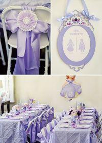 Royal Purple Sofia the First Birthday Party | Birthdays ...