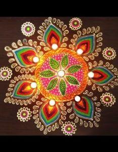 Easy rangoli art with creativity youtube also hunner pinterest rh