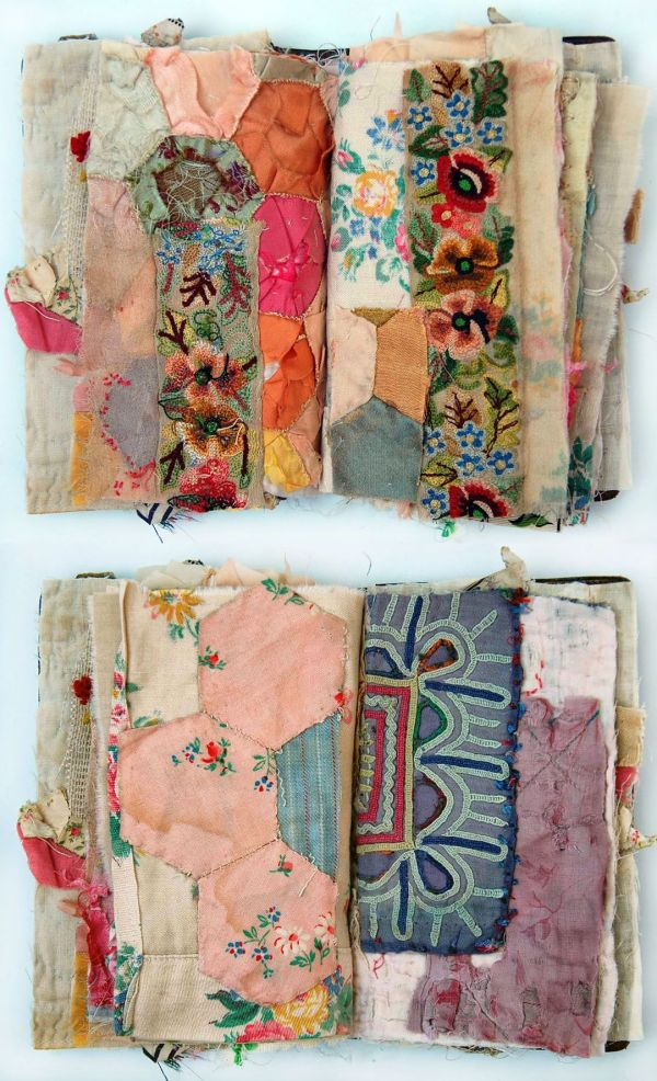 Fabric Collage And Embroidery Textile Artist Mandy