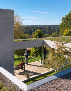 Talk about grand designs this home in the forest of dean called outhouse could be on cusp winning country   most prestigious architecture also green design innovation building rh pinterest
