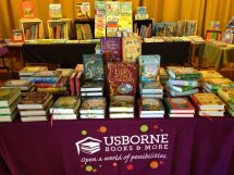 Booth Usborne Book Fair