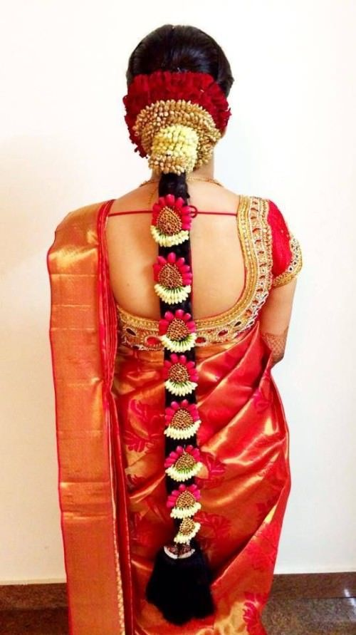 25 South Indian Bridal Hairstyles Hairstyle Monkey Hairstyle