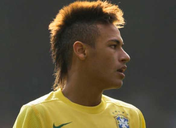 Neymar Mohawk Hairstyle My Style Pinterest Soccer Players