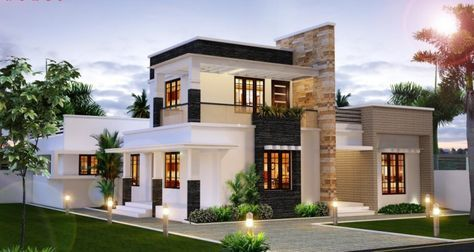 House Designs India Punjab And Home Design Also Selvan Contractor Small Home  Oo Exclusive Pinterest Rh