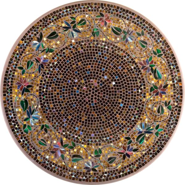 Mosaic Tile Table Top Pattern