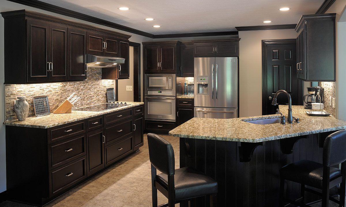 Marvellous Smart Modern Kitchen Design Ideas In Natty Black