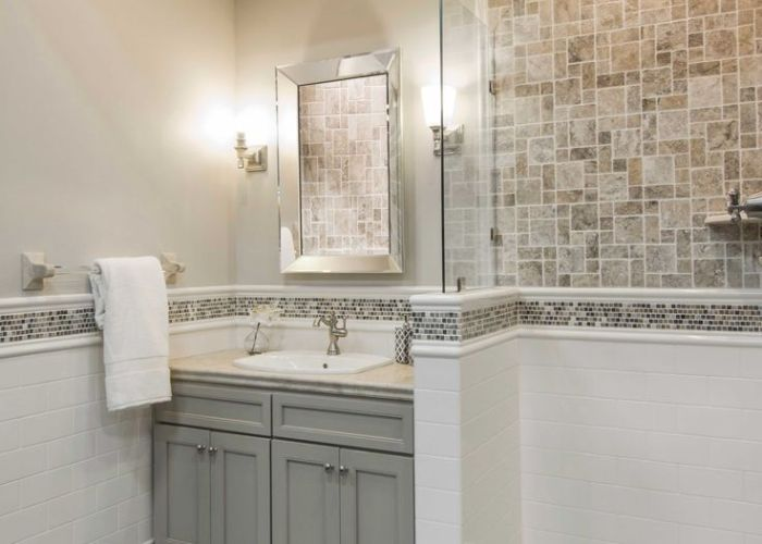 Shop for claros silver remzi  in at the tile also pin by terri coligan on bath pinterest