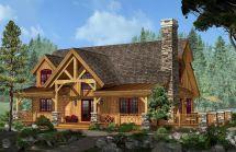 Adirondack Cottage Series Elevation