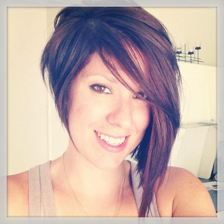 Asymetrical Hair Cuts Asymmetrical Haircut! You Know You Love It