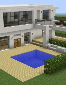 Minecraft how to build  modern house also pin by perkasa on video origami pinterest dollhouses and rh