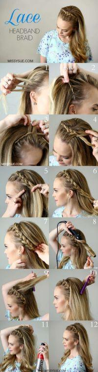 Super Easy DIY Braided Hairstyles for Wedding Tutorials ...
