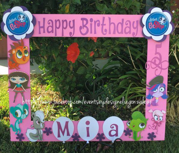 Super Mario Birthday Party Invitations Littlest Pet Prop Frame Https