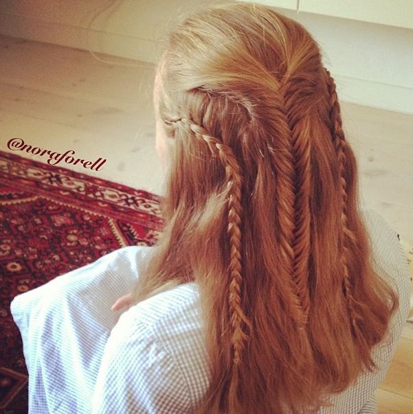 The Hobbit Inspired Hairstyle Done By The Talented Nora Forell