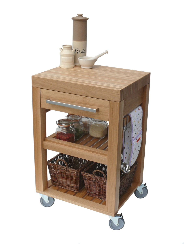 unfinished kitchen cart cabinet handles for trolley butchers block solid oak