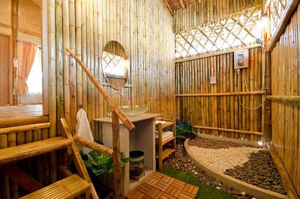Bamboo Architecture & Home Design Ideas Bamboo Bathroom