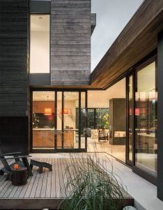 Helen house is  simple modern structure integrated with quiet courtyard also rh za pinterest