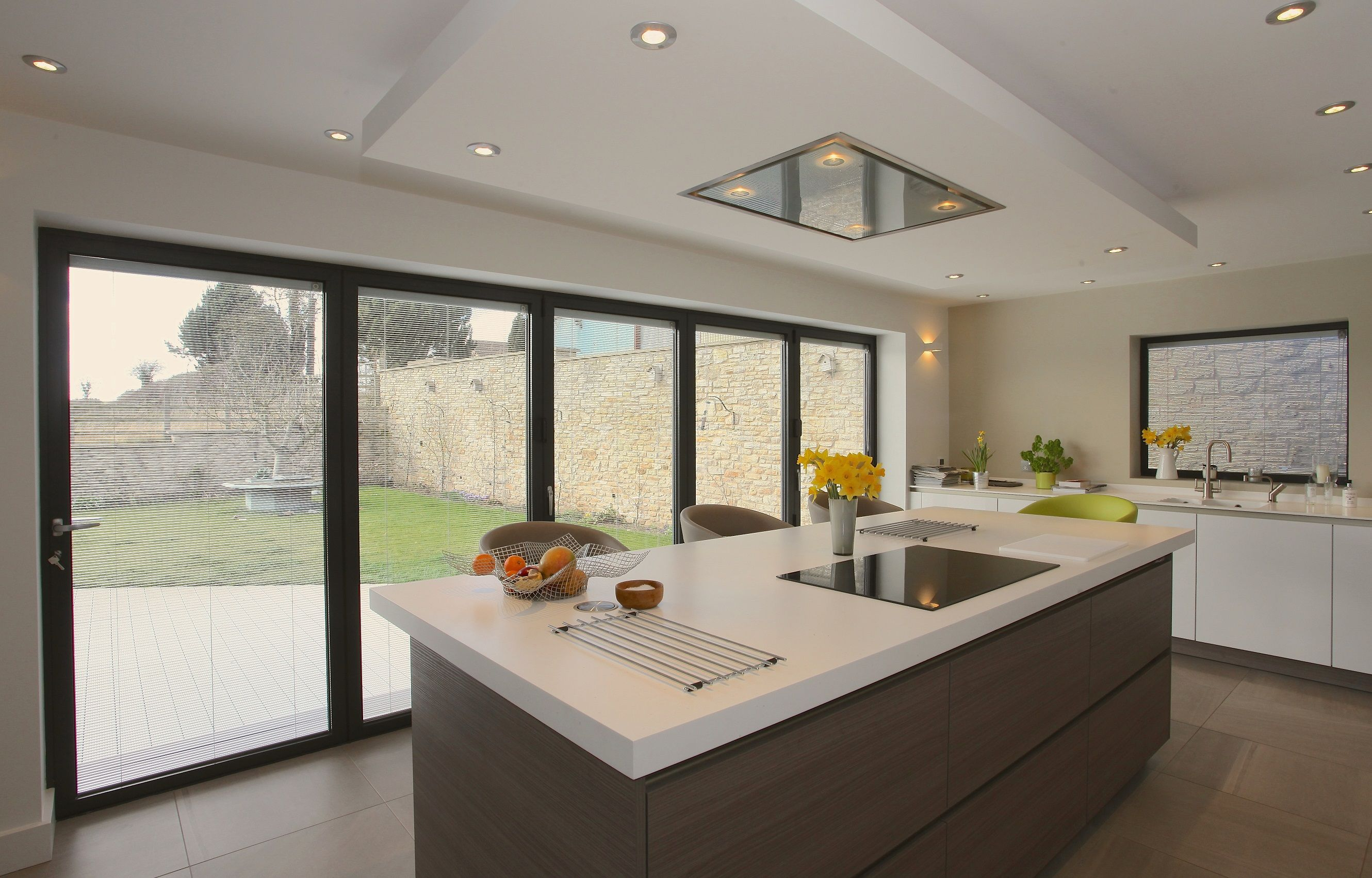 bi fold kitchen cabinet doors island with drop leaf clearance for extensions
