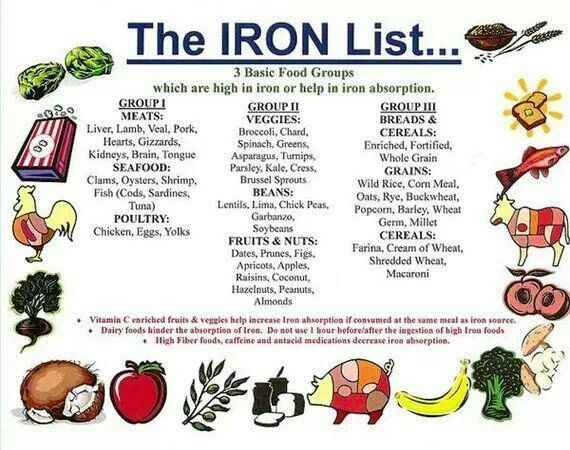 iron rich recipes on pinterest foods and