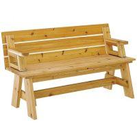 Picnic Table / Bench Combo Plan | Picnic table bench ...