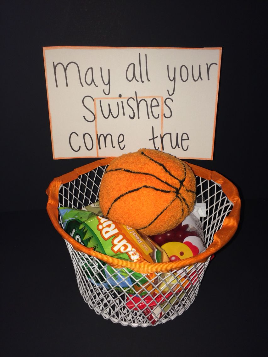 I Made This T Basket For My Boyfriends First Basketball