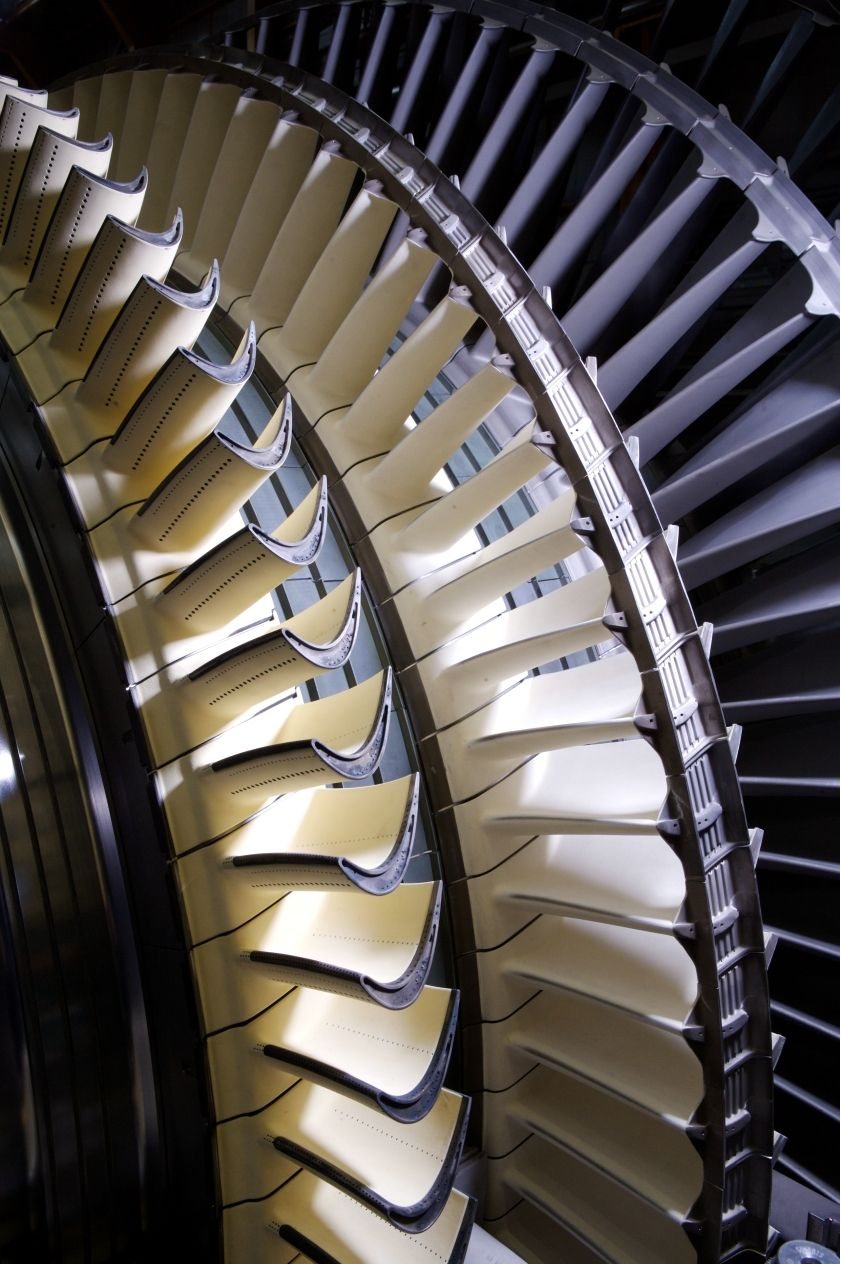 Gas Turbine blades See the microchannels for blade
