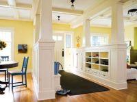 Half Wall Room Divider Design Ideas (for foyer/stairway ...