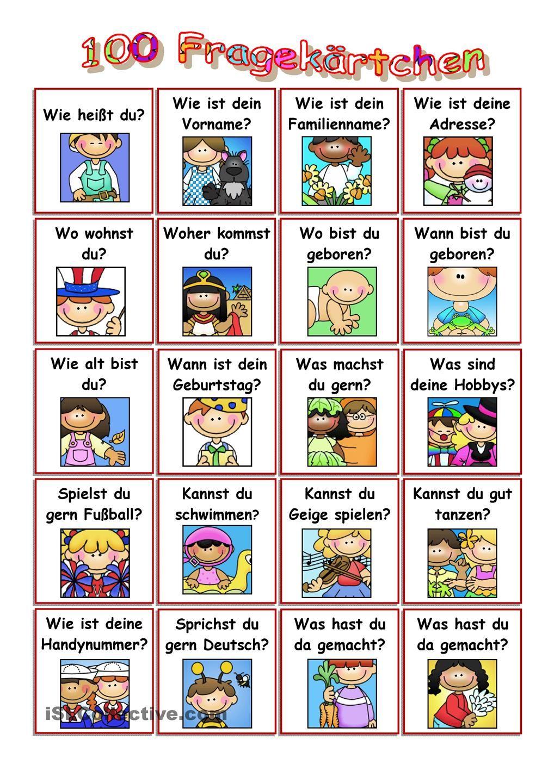 Die Besten 25+ Deutsch Lernen Spiele Ideen Auf Pinterest
