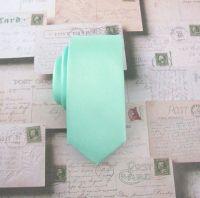 Necktie Pastel Mint Green Skinny Tie by TieObsessed on ...
