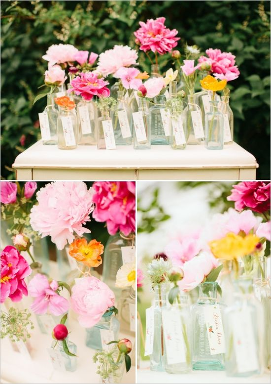 Colorful Garden Wedding Ideas Gardens Wedding And Centerpieces