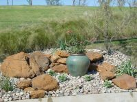 rock landscaping ideas | Rock Garden Dallas TX  One ...