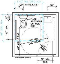 ADA Bathroom Dimensions - Get ADA bathroom requirements at ...