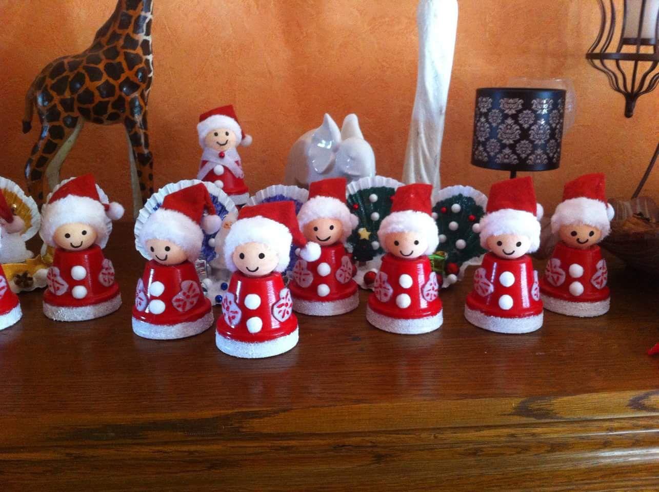 Dco de nol avec des capsules de caf  Dco Nol  Pinterest  Noel