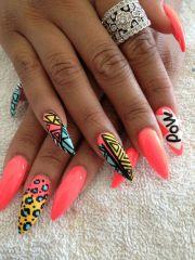 ghetto nail design