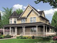 Plan 6908AM: Fabulous Wrap-Around Porch | Country ...