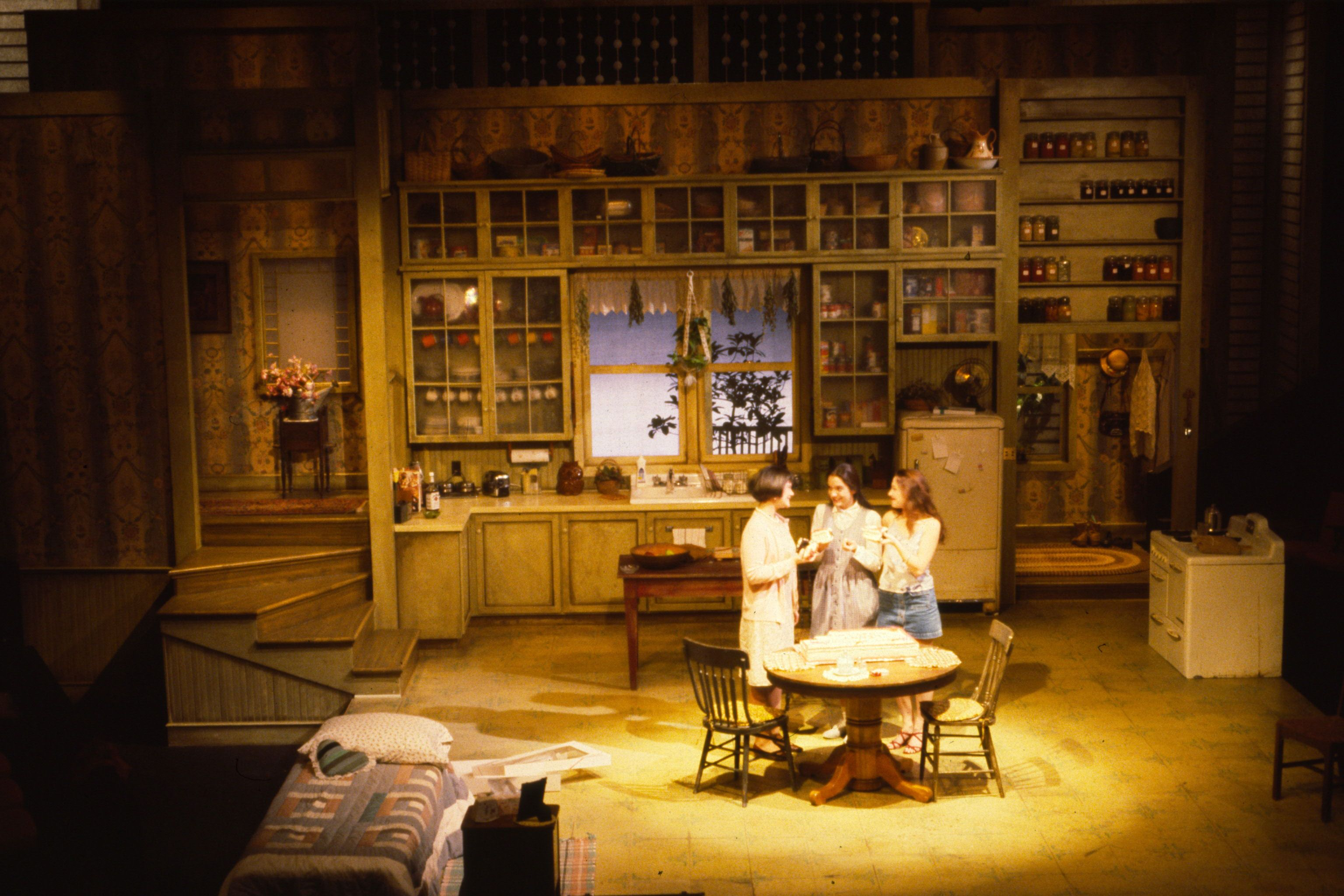 Crimes Of The Heart. UVM. Scenic Design By Christopher