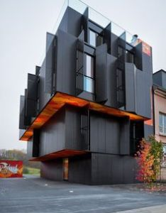 Apartment building in luxembourg  metaform architects best architecture designs bocadolobo also rh pinterest